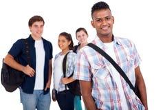 Studenti della scuola del ritratto Fotografia Stock Libera da Diritti