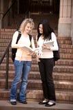 Studenti di college immagine stock