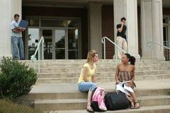 Studenti di college Immagini Stock Libere da Diritti