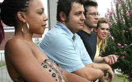 Studenti di college Immagine Stock Libera da Diritti
