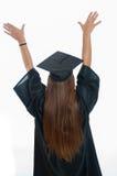 Studenti di laurea che sognano del futuro Fotografia Stock