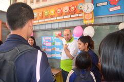studenti ed insegnanti Immagini Stock