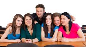 Studenti felici Immagini Stock