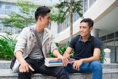 Studenti moderni Fotografia Stock
