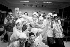 Studenti musulmani Fotografia Stock