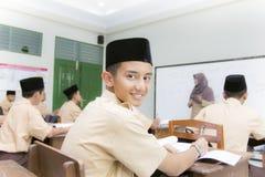 Studenti musulmani Immagini Stock