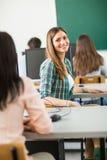 Studenti nell'aula Immagini Stock Libere da Diritti