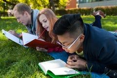 Studenti prima di esame Fotografie Stock