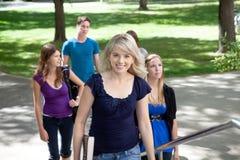 Studenti universitari Fotografia Stock Libera da Diritti