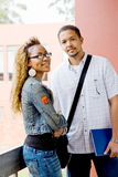 Studenti universitari africani Fotografia Stock