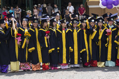 Studenti vietnamiti Immagine Stock