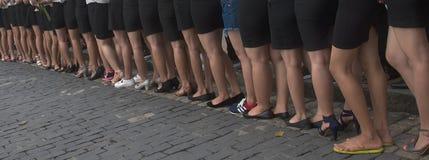 Studenti vietnamiti Fotografia Stock