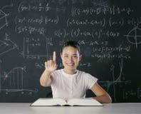 Studentin stockbild