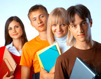 Students Royalty Free Stock Photo