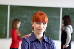 The students Royalty Free Stock Image