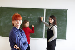 The students Stock Photos
