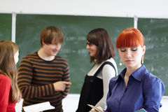 The students Stock Photography