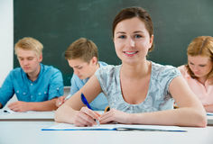 Students Royalty Free Stock Image
