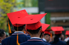 Students Adult ceremony Royalty Free Stock Images