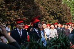 Students Adult ceremony Royalty Free Stock Photography