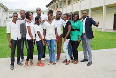 STUDENTS Africans Stock Image