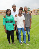 STUDENTS Africans Royalty Free Stock Image