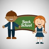 Students back to school design Stock Photo