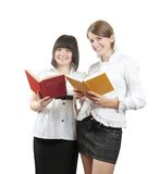 Students with books Royalty Free Stock Photography