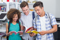 Students chatting in between classes Royalty Free Stock Images
