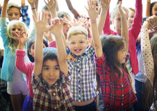 Students Children Cheerful Happiness Concept Royalty Free Stock Image