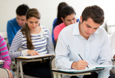 Students in class Stock Photo