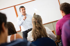 Students in class Stock Photography