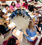 Students during a class Stock Photos