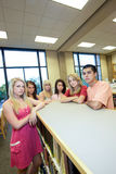 Students in Class Royalty Free Stock Image