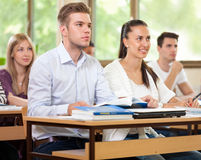Students in class Stock Images