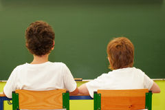Students in the classroom Stock Images
