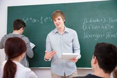 Students in classroom Royalty Free Stock Images