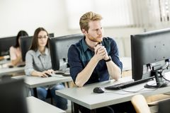 Students in the classroom Royalty Free Stock Photography