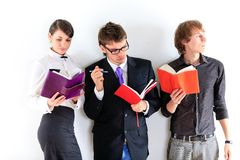 Students. Close up. Royalty Free Stock Photography