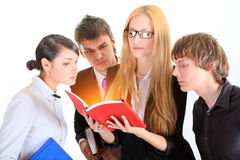 Students. Close up. Stock Photography