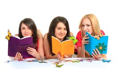 Students. Close up. Royalty Free Stock Image