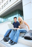 Students at College Stock Photos