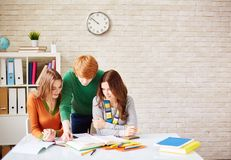 Students of college Stock Images