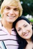 Students couple Stock Image