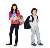 Students of different ages Stock Image