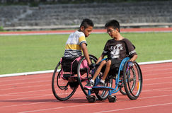 Students with disabilities Royalty Free Stock Images