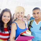 Students Diversity Learning Education Knowledge Happiness Royalty Free Stock Photo