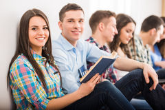 Students. Royalty Free Stock Photo