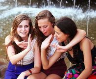 Students girls Royalty Free Stock Photo
