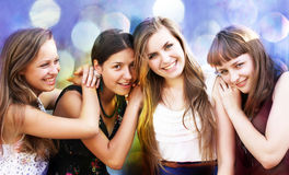 Students girls Stock Image